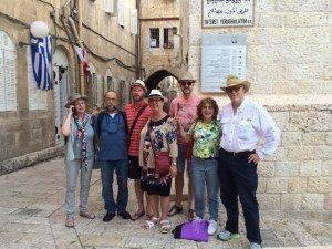 Mussargroep in Jeruzalem 2016
