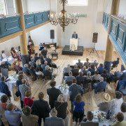 Heropening Uilenburgersjoel in bijzijn van Burgemesteer Eberhard van der Laan, Amsterdam 13-05-2016